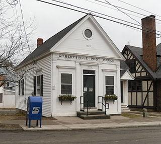 Gilbertsville, New York Village in New York, United States