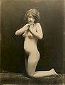 Gilhousen Nude Kneeling Woman Silver Gelatin Print.jpg