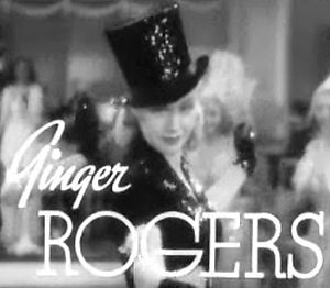 Stage Door - Image: Ginger Rogers in Stage Door trailer