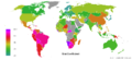 Gini Coefficient World Human Development Report 2007-2008.png