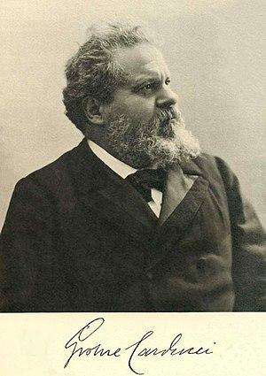 Giosuè Carducci cover