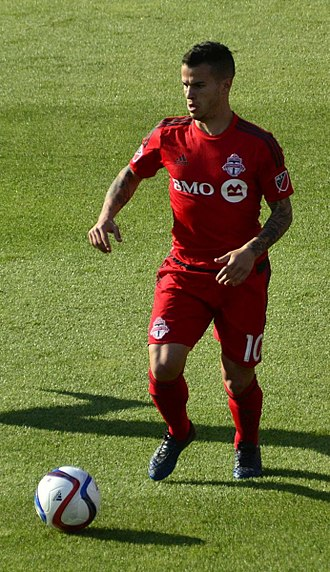 Toronto FC - Sebastian Giovinco broke the MLS record for most combined goals and assists in a season in his debut season in 2015. He is also Toronto FC's all-time top scorer with 83 goals in all competitions.