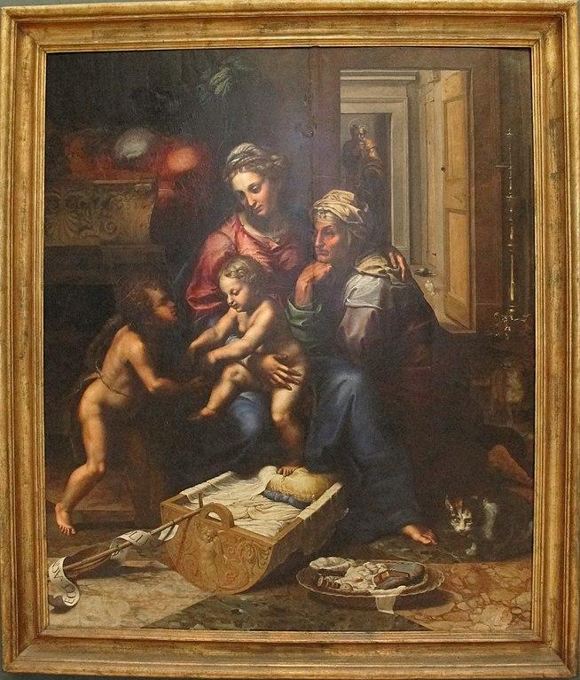 Madonna della gatta di Giulio Romano