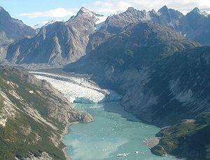 Glacier Bay Basin - McBride Glacier, Glacier Bay, in 2004