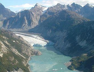 Glacier terminus - Image: Glacier Bay 3