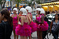 Glamourous women doing a promotion of some sorts at TIFF 2011 -d.jpg