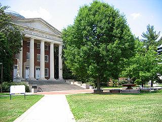 A. James Clark School of Engineering Engineering school of the University of Maryland