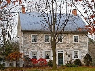 North Cornwall Township, Pennsylvania - The Gloninger Estate, built 1785
