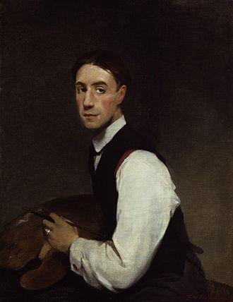 Glyn Philpot - Self-portrait of Glyn Philpot, 1908