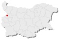 Godech location in Bulgaria.png