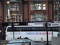 Golders Green Bus Station - National Express coach near National Express shop (16022100368).jpg