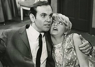 Good Morning, World - Larry (Ronnie Schell) and Sandy (Goldie Hawn).