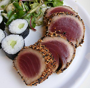 English: Gordon Ramsay's Sesame Crusted Tuna