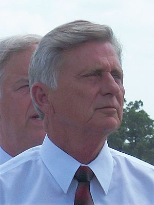Mike Beebe - Governor Beebe attended the groundbreaking for the Bella Vista Bypass with Ray LaHood and Mark Pryor in 2011