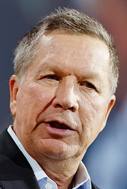 John Kasich, from file, 2015.  Image: Michael Vadon.