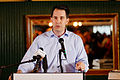 Governor of Wisconsin Scott Walker at Belknap County Republican LINCOLN DAY FIRST-IN-THE-NATION PRESIDENTIAL SUNSET DINNER CRUISE, Weirs Beach, New Hampshire May 2015 by Michael Vadon 10.jpg