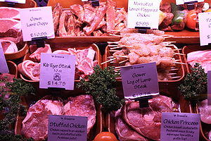 Cuisine of Gower - Gower meat selection at La Braseria restaurant, Swansea