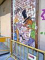 Graffiti con valla - Barrio del Carmen.jpg