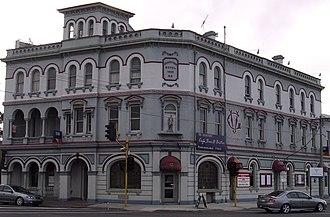 Fairfield, Victoria - Grandview Hotel built in 1888