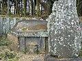 Grave of Morihime the wife of Nabeshima Naomasa in Kōden-ji Saga.jpeg