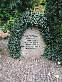 Grave of professor Ivar Broman.JPG