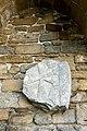 Gravestone with cross in Bazar square.jpg