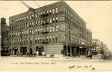 The Great Southern Hotel Was Built In 1890 At 6th Street And 23rd Avenue