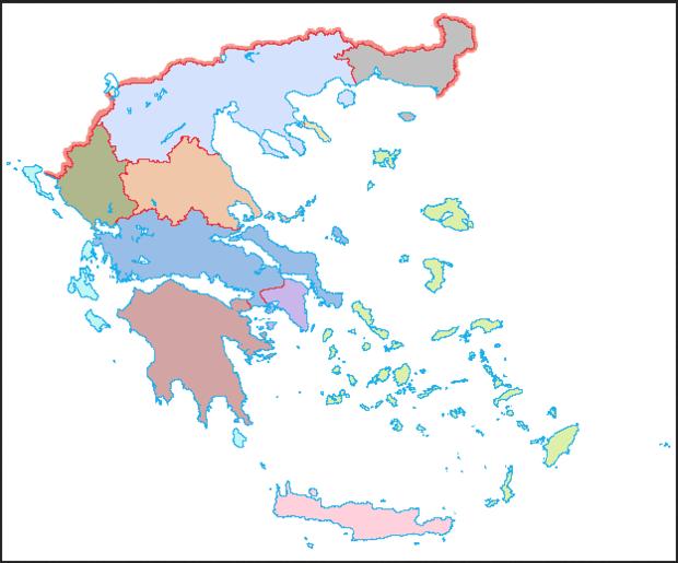 Greece colour