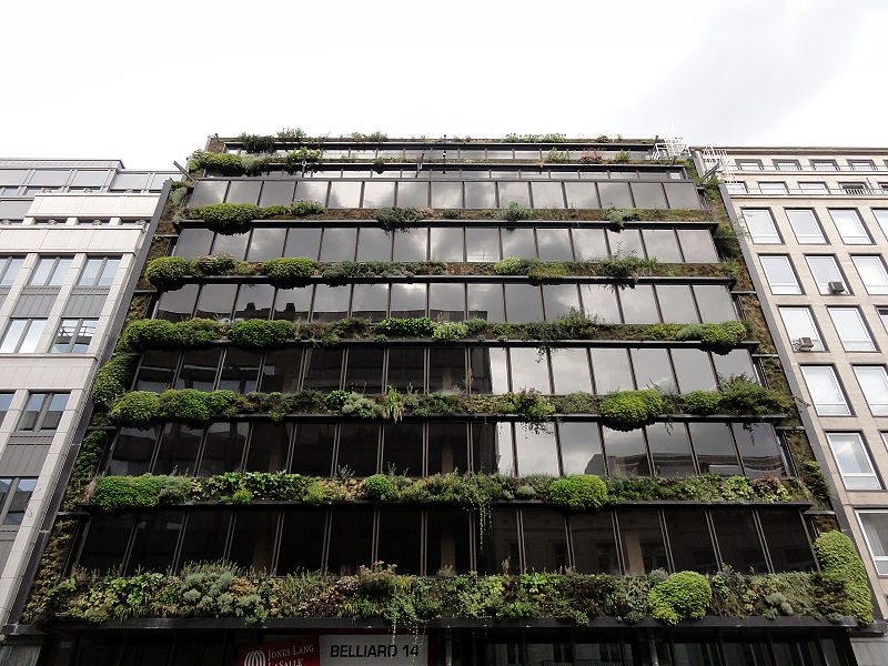 Green house? Rue Belliard 14, Brussels