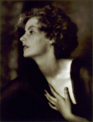 Greta Garbo, actress.