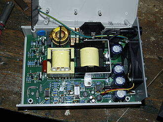 Grid-tie inverter - Inside an SWEA 250W transformer-coupled grid-tie inverter