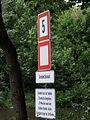 Griebnitzkanal Schild für Verkehrsregelung DSCF0843.jpg