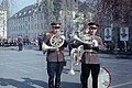Grimma. Не музыканты В. Башаров и А. Дорофеев на плацу 67-го гв. мсп. Гримма 1970..jpg