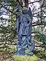 Groningen - St Michel terrassant le Dragon (1883) door Eduard Colinet.jpg