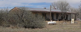 National Register of Historic Places listings in Guadalupe County, New Mexico - Image: Grzelachowski house and store from SE 3
