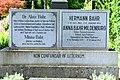 GuentherZ 2015-06-26 Salzburg-Stadt (12) Kommunalfriedhof Grabstein Bahr-Mildenburg.JPG