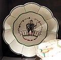 Guido andlovitz per società ceramica italiana, servizio monza o margherita, laveno 1925 circa, 01 piatto.jpg