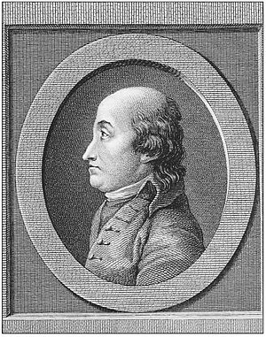 Guillaume-Charles Faipoult - Portrait by Launay after a drawing by Anne Germain