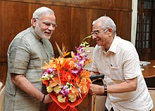 Gujarat Governor meets PM Modi.jpg