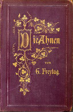 Gustav Freytag - Die Ahnen (Buchdeckel) 1874