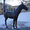 Häst och pojke, Ernst Nordin, Tunagården Eskilstuna.JPG