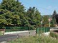 Híd a Besnyői-patak felett. - Gödöllő, Mikes Kelemen utca.JPG