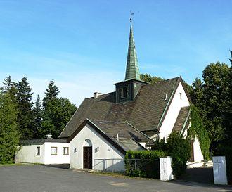 Georg Greve (architect) - Image: Høybråten kirke 1