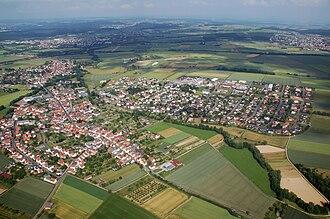Hüttenberg - Aerial view