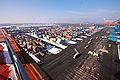 HHLA Container Terminal Altenwerder (CTA) in Hamburg - Winter 2010 - 04.jpg