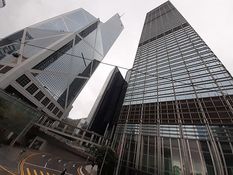 File:HK 金鐘 Admiralty 金鐘道 Queensway February 2021 SS2 02 CKC Cheung Kong Center n Bank of China Tower.jpg