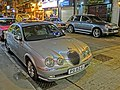 HK Jordan 佐敦 廟街 Temple Street night carpark Jaguar Apr-2013.JPG
