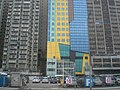 HK North Point 宜必思世紀軒 Hotel Ibis 北角碼頭露天停車場 Outdoor carpark.JPG