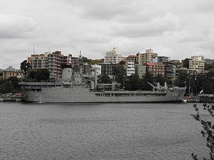 HMAS Tobruk FBE Jan 2012.jpg