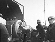 HMS Ladybird gunnery Bardia 1941 AWM 127945